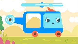 Best cartoons For Children - Helicopter - Magic Pik - Cars & Trucks For Kids