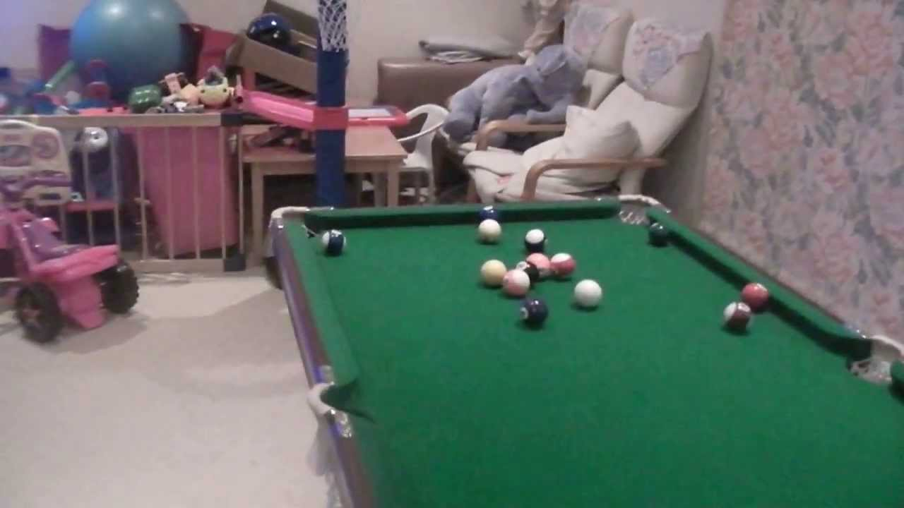 Mini Billiards Pool Table For Kids!