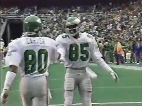 Phoenix Cardinals Vs Philadelphia Eagles 11/27/1988 (with original commercials & post game)