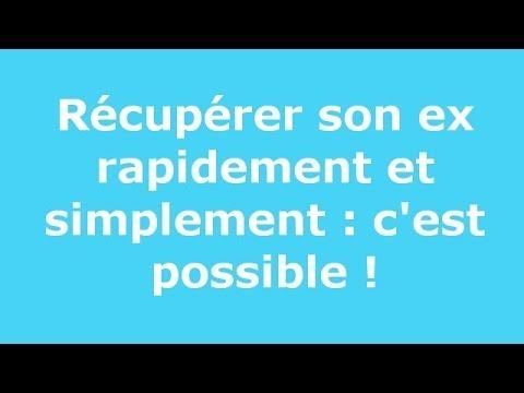 Bevorzugt Récupérer son ex rapidement et simplement : c'est possible ! - YouTube EK49