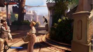 Bioshock Infinite 15 Mins PC Gameplay Max Settings (1999 Mode)