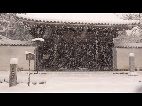 京都 嵐山・嵯峨野の雪景色 (その1) snow scenery of Arashiyama and Sagano in Kyoto