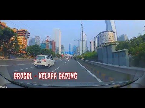 TOL DALAM KOTA GROGOL - KELAPA GADING    JAKARTA INDONESIA