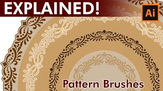 How to create custom Lace Pattern Brushes in Adobe Illustrator