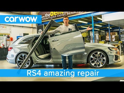 Someone damaged my RS4 but youll be amazed at the fix