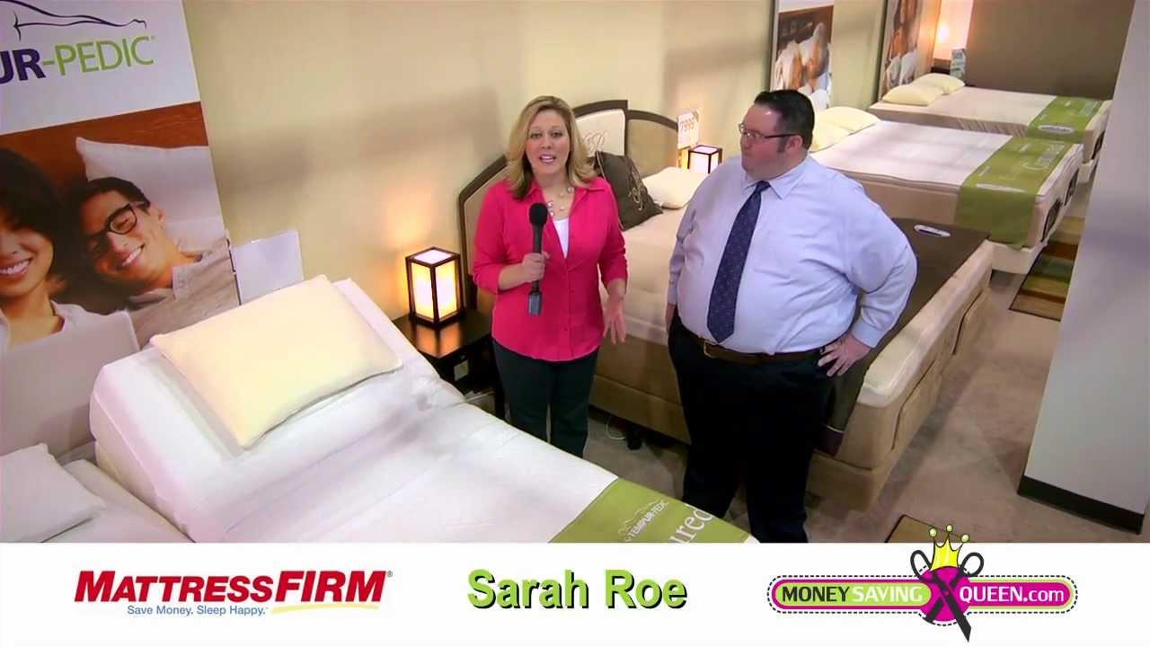 mattress firm tempur pedic adjustable closeout youtube