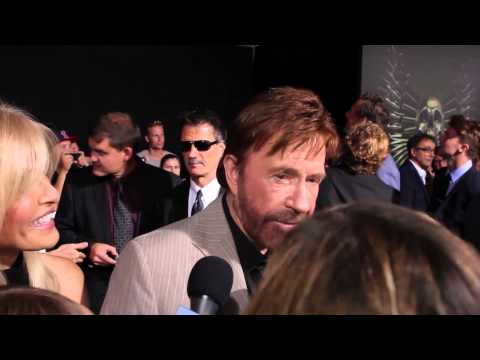 Chuck Norris in The Expendables 2 L.A. Premiere #3
