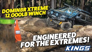Domin8r Xtreme 7.2hp Winch Re-engineered - More Efficient, More Powerful