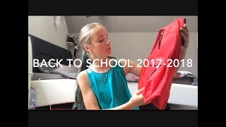 Back To School 2017-2018 - Mes Fournitures Scolaires