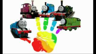 Finger Family song with Thomas and Friends