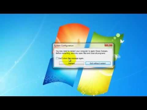 Hướng Dẫn Cách Tắt Cách Phần Mềm Khởi động Cùng Windows Với Msconfig