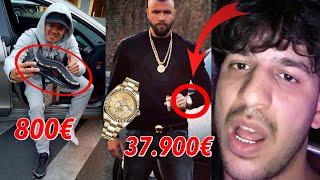 WIE VIEL IST DAS RAPPER OUTFIT WERT?! 41.000€ Outfit