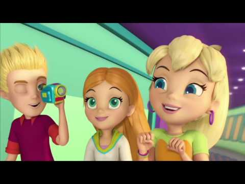 Cartoon For Kids - Polly Pocket And Friends  - Friends Finish First  - Cartoons For Children
