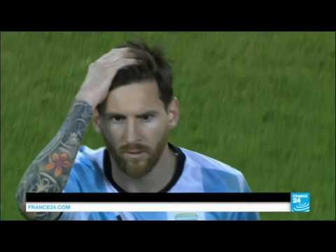 PKG Messi Retraite Internationale