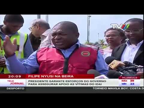 TRAGÉDIA NO CENTRO DO PAÍS | IMAGENS AÉREAS | #CICLONE IDAI EM #MOÇAMBIQUE #BEIRA | TVM 17 03 2019