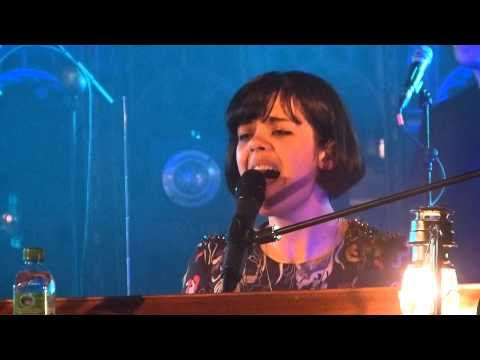 Bat For Lashes - Horse And I live Manchester Cathedral 22-10-12