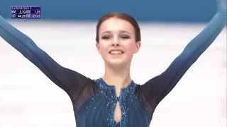 Анна Щербакова Командный чемпионат мира по фигурному катанию 2021 в Японии Короткая программа