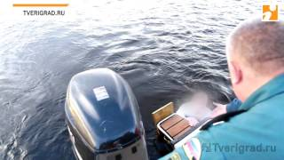 Спасатели вытащили из воды пьяного жителя Твери, который решил переплыть Волгу в День Города