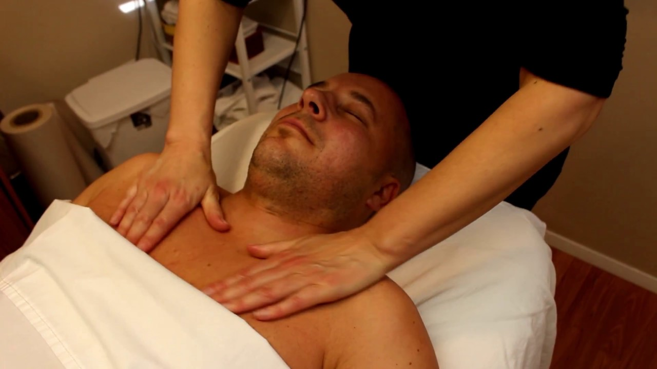 Asmr Full Body Massage Video Part  Head Neck Shoulders No Dialogue Asmr