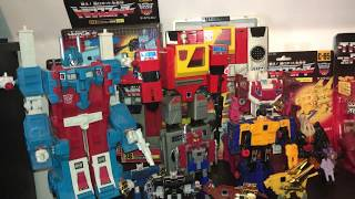 Complete Transformers Generation one toy collection. G1 Vintage, 1984 originals, gig, video, Takara