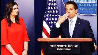 Anthony Scaramucci Directs Nonsense Hair & Makeup Comments To Sarah Huckabee Sanders While On CNN