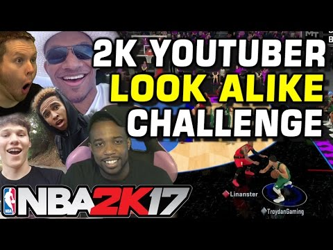 NBA2K YOUTUBER LOOK ALIKE CHALLENGE