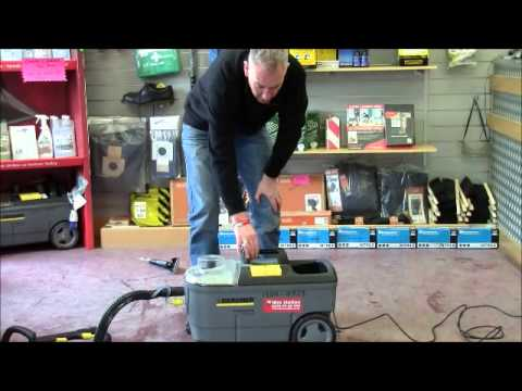 How to use the Hire Station Carpet Cleaner