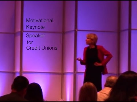 Motivational Keynote Speaker for Credit Unions
