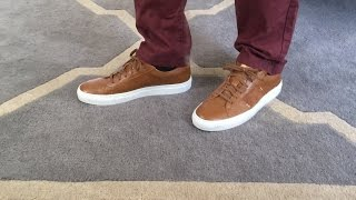 GREATS Brand Royale Low Top Shoes Review // A comfortable and sporty alternative to loafers