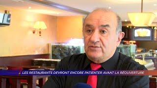 Yvelines | Les restaurants devront encore patienter avant la réouverture