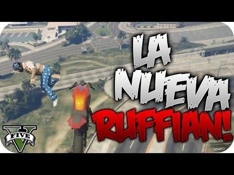 EL ESTRENO DE LA NUEVA RUFFIAN!! #385   GTA V ONLINE RACE C/AMIGOS   Flowstreet