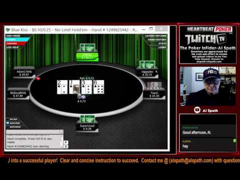 Al Spath Poker (Coaching) Lessons: Micro Limits – Winning Strategies Lesson .10/.25NL 6 Plyr (#139)