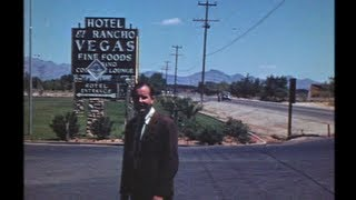 """Las Vegas, in the beginning. Appearing Ben """"Bugsy"""" Siegel, Bruce Cabot and Michael Romanoff."""