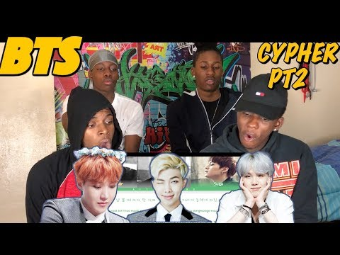 BTS 방탄소년단  BTS Cypher pt2: Triptych  REACTION