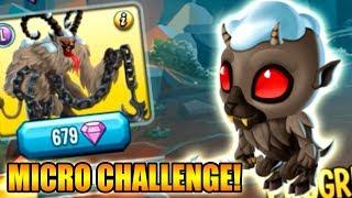 Monster Legends - MICRO CHALLENGE ( KRAMPUS ) - Maxi Tuning |#1