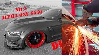 2nd Alpha ONE S550 Widebody Mustang in Dubai by Alphamale Performance - SimonMotorSport - Folge 204