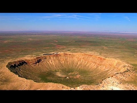 Arizona's Jaw-Dropping Mile-Long Meteor Crater