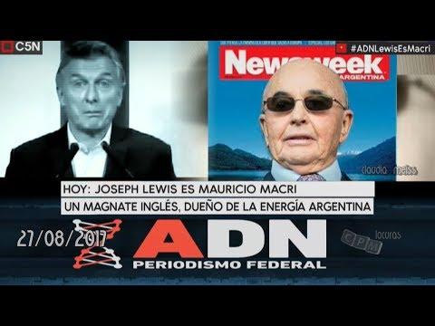 ADN (Periodismo Federal) programa 27 /08/ 2017 C5N  -Lewis es Macri-