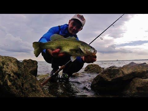 Fishing Lake Ray Hubbard - Shore Fishing