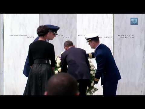 President Obama Attends 9/11 Memorial Service in Shanksville, Pennsylvania