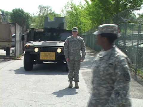 Military Ground Guiding Procedures (8 Min)