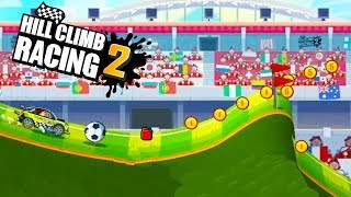 Hill Climb Racing 2 Long Kick World Cup Event   Android Gameplay   Friction Games