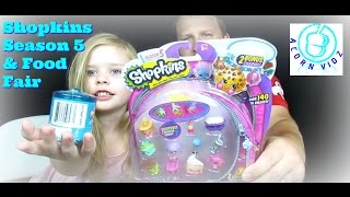 Shopkins Season 5 & Food Fair