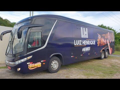Ônibus do Cantor Luiz Henrique chegando em Maceio AL | Tô  Na Midia