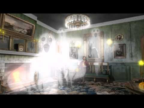Ghosts In A Haunted House Halloween Ghost 1mp4