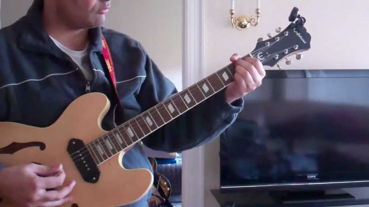 Epiphone Casino With Gibson P90 Pickup