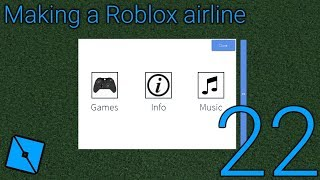 Making a Roblox airline: Episode 22 - In Flight Entertainment is almost done and answering questions