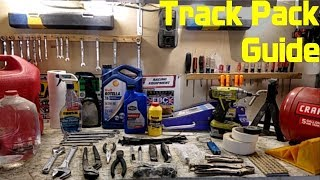 homepage tile video photo for Track Weekend Packing Guide