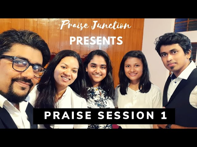 Live Praise session 1 by Praise Junction | In Moments | Change my heart | In His time | Cares Medley