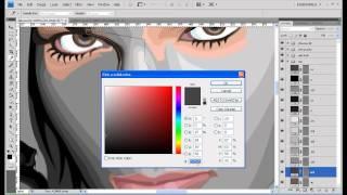 "Felice ""lil Bulldog"" Herrig Vector Portrait In Photoshop"